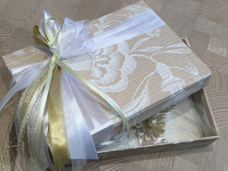 Dāvanu iesaiņošana - kastīte naudas vai dāvanu kartes iesaiņošanai