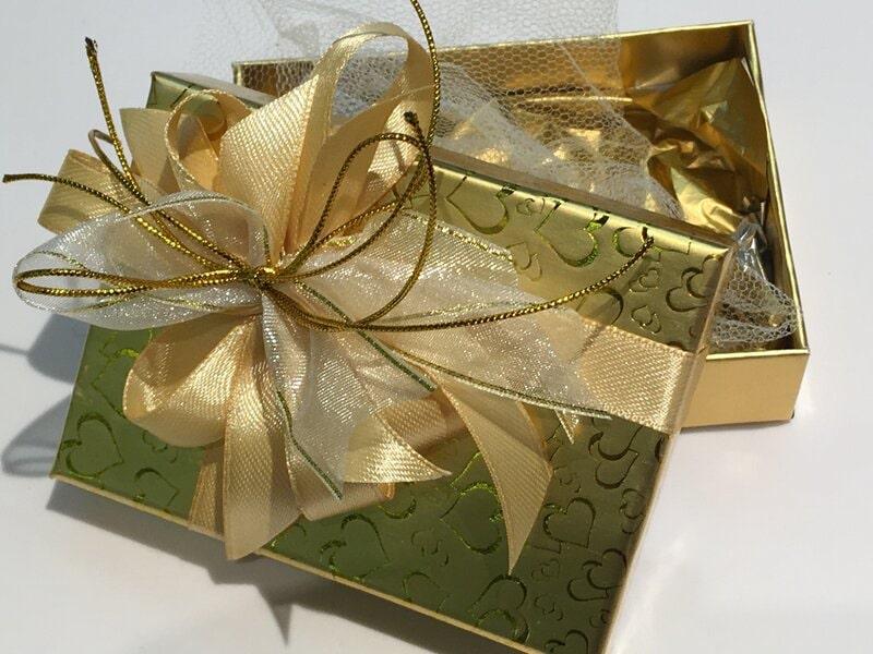 Dāvanu iesaiņošana - noformēta dāvanu kastīte
