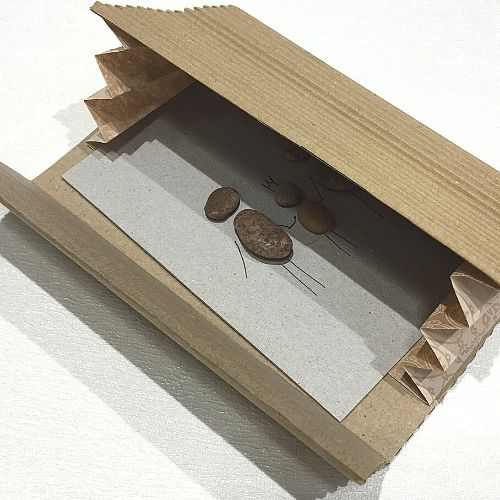 Gofrētā kartona dāvanu aploksne