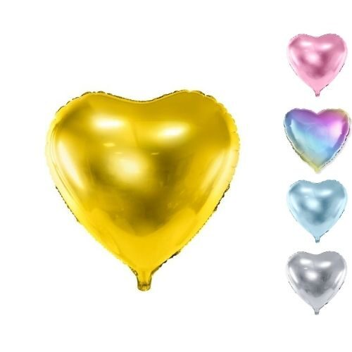 Follija baloni sirdis