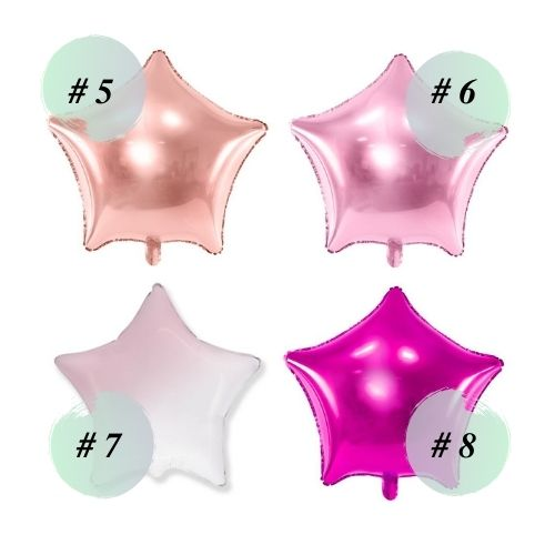 Follija baloni zvaigznes 2