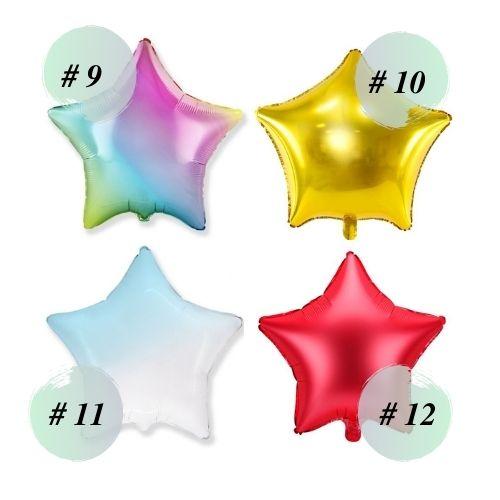 Follija baloni zvaigznes 3