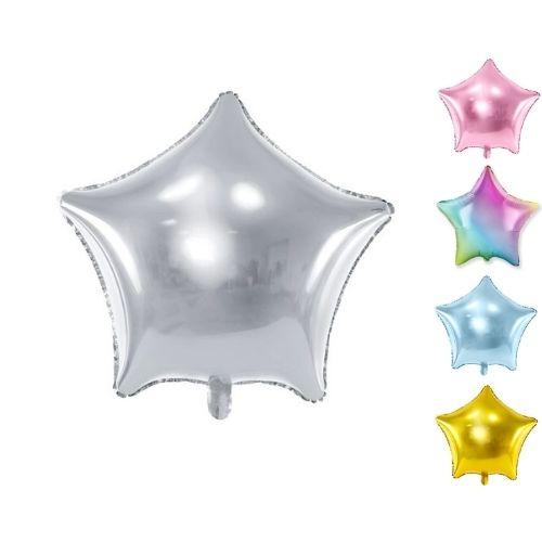 Folijas baloni zvaigznes