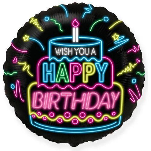 Follija balons ar apsveikumu dzimšanas dienā