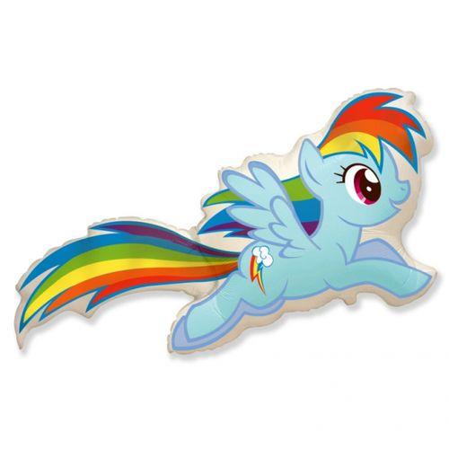 Balons gaiši zils Little Pony