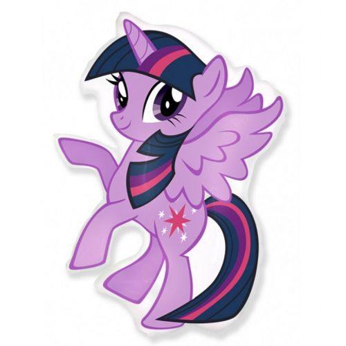 Balons violets Little Pony