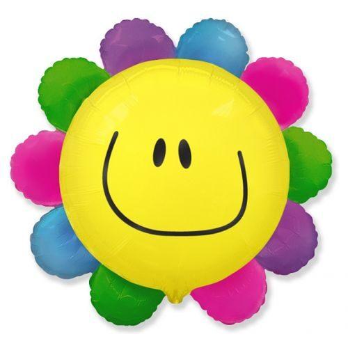Puķe ar smaidiņu