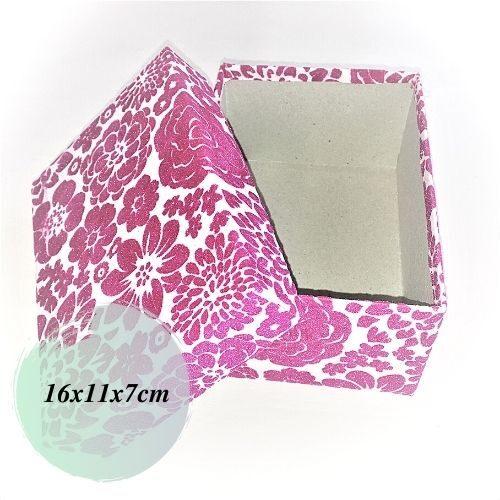 Dāvanu kaste ar noceļamu vāku 16x11x7cm