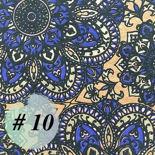 Indijas dāvanu papīrs #10