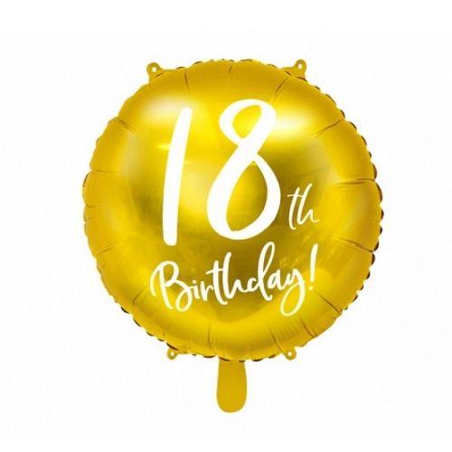 Balons 18 gadu dzimšanas dienā
