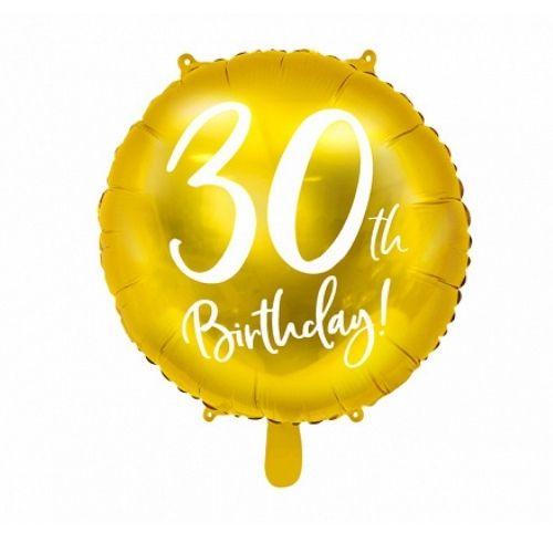 Balons 30 gadu dzimšanas dienā