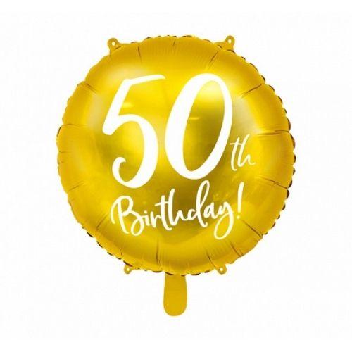 Balons 50 gadu dzimšanas dienā