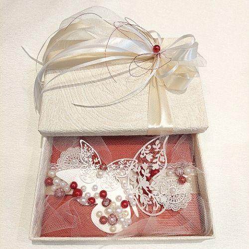 Izdekorēta dāvanu kastīte naudai, biļetēm, dāvanu kartei kāzās, dzimšanas dienā