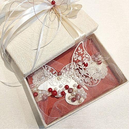 Izdekorēta dāvanu kastīte naudai, biļetēm, dāvanu kartei